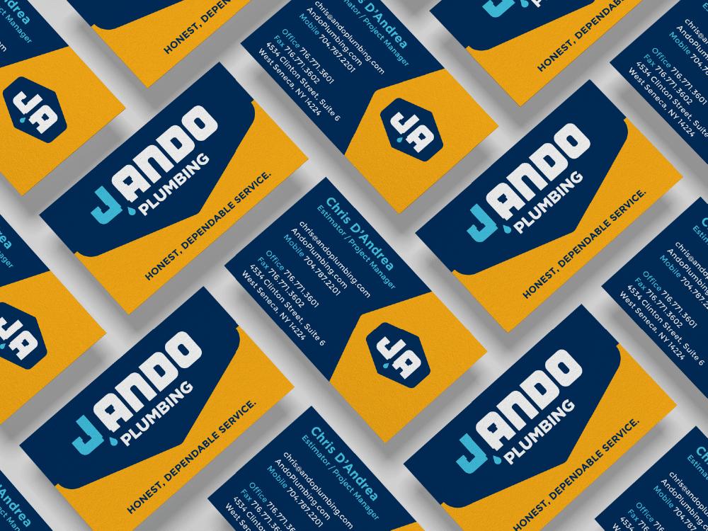 J. Ando Business Card Design