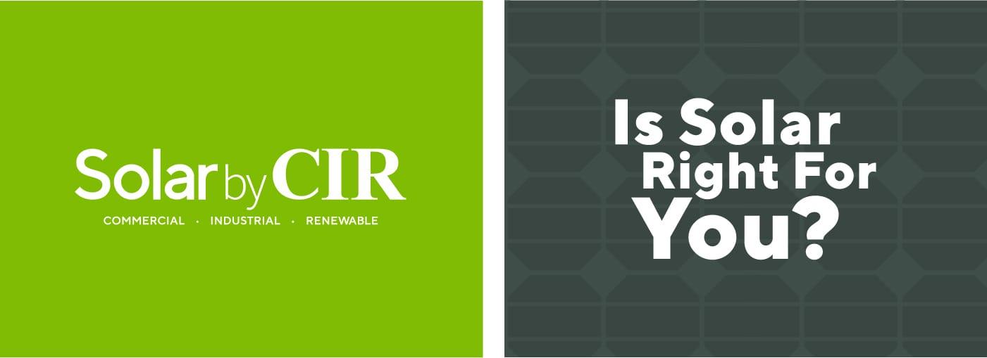 Solar By CIR Branding