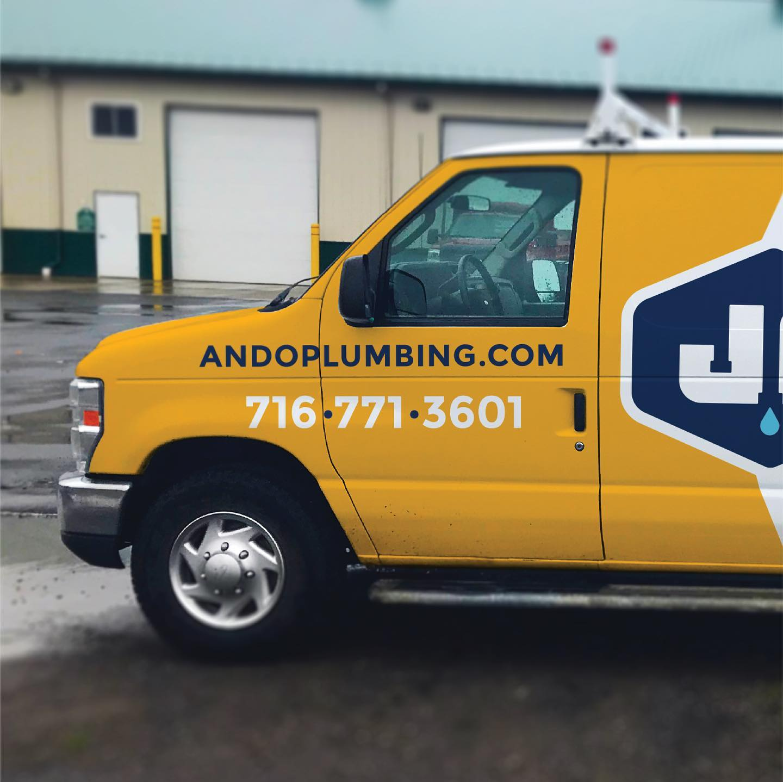 J. Ando Truck Wrap Design