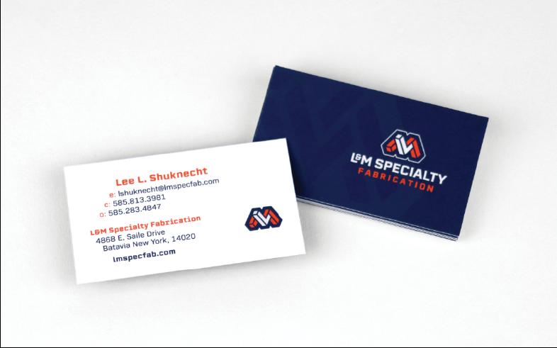 L&M Business Cards