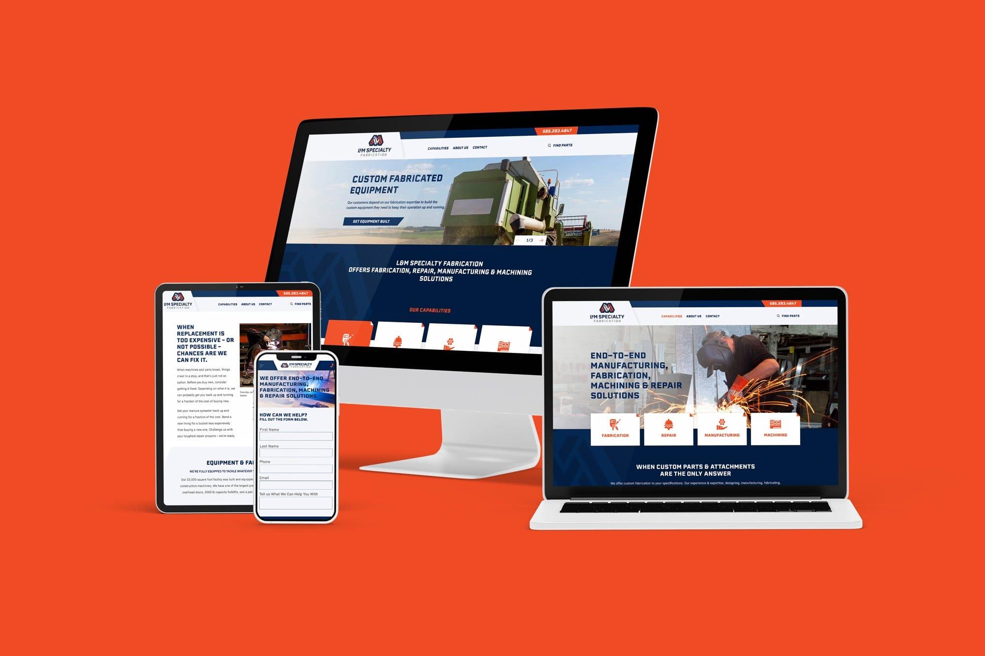L&M Website Design