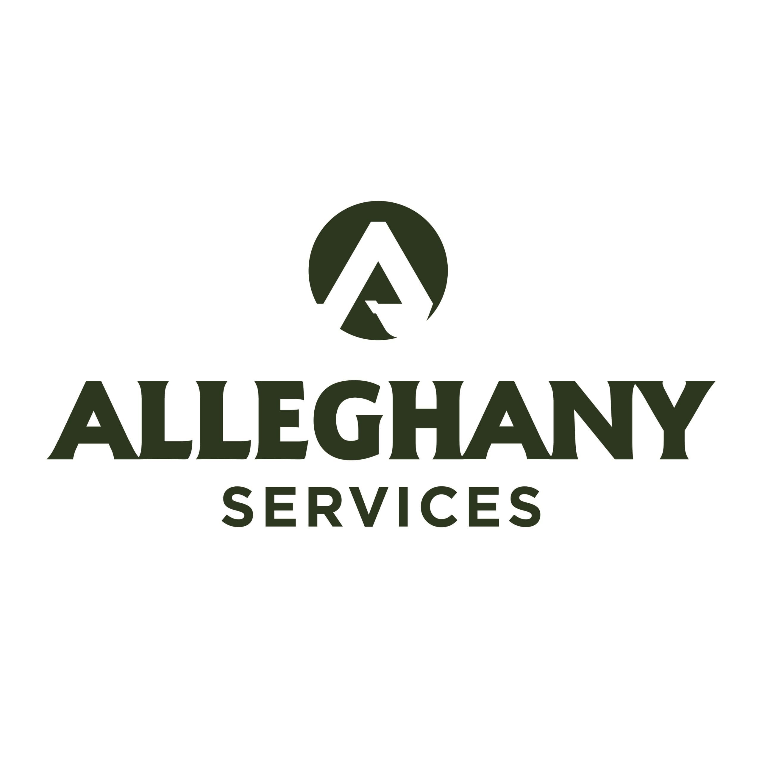 Alleghany Services Logo Design