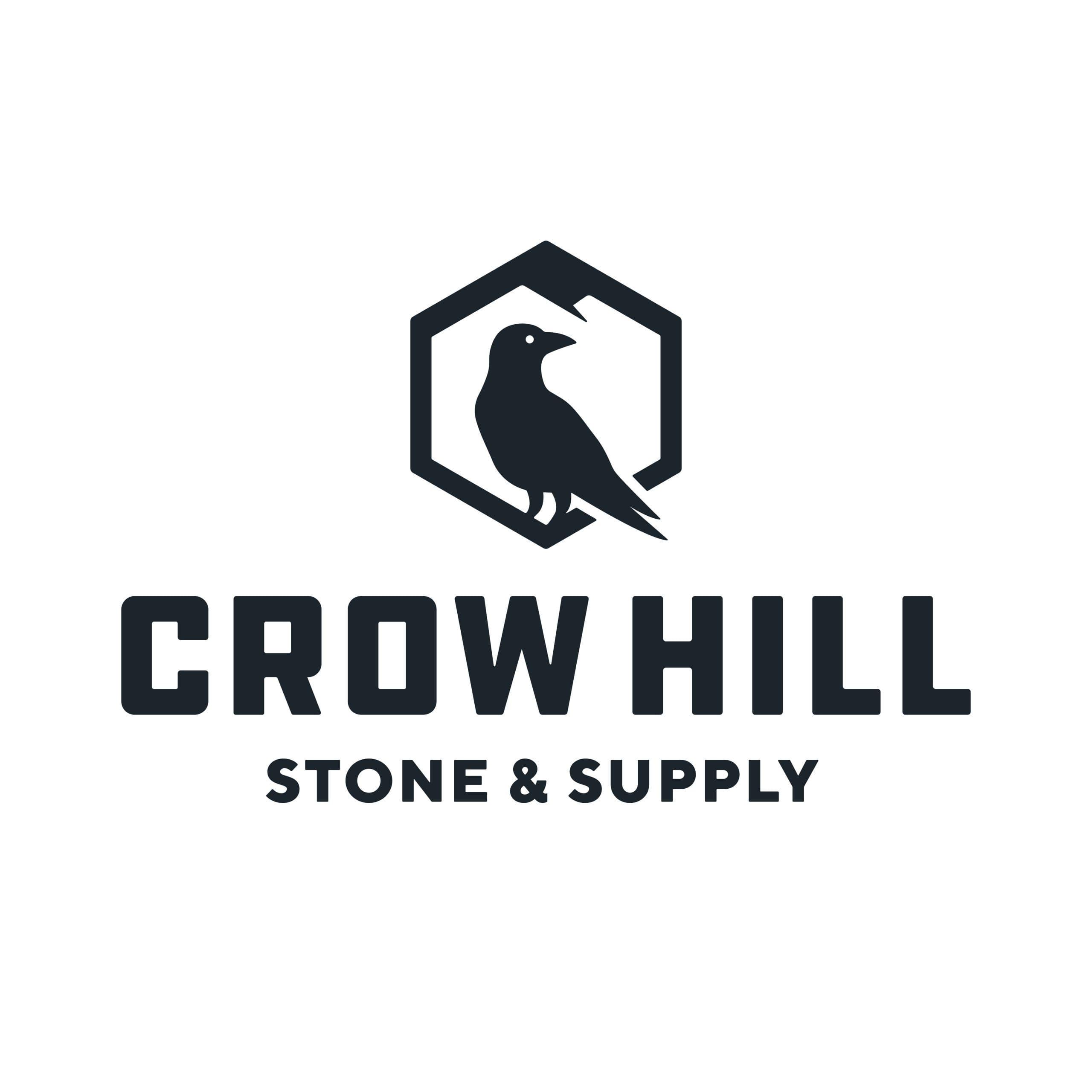 Crow Hill Stone & Supply  Logo Design