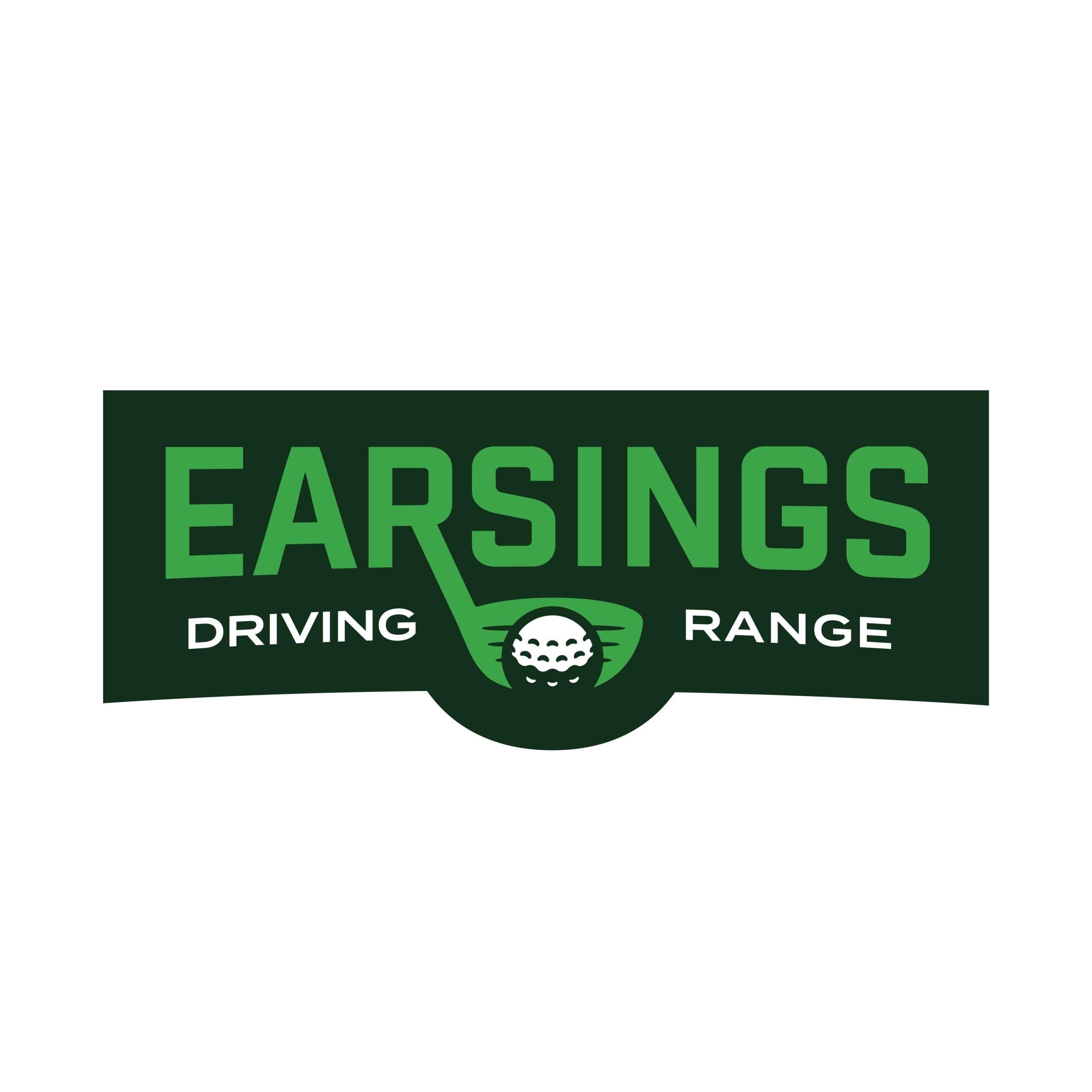 Earsings Driving Range Logo Design