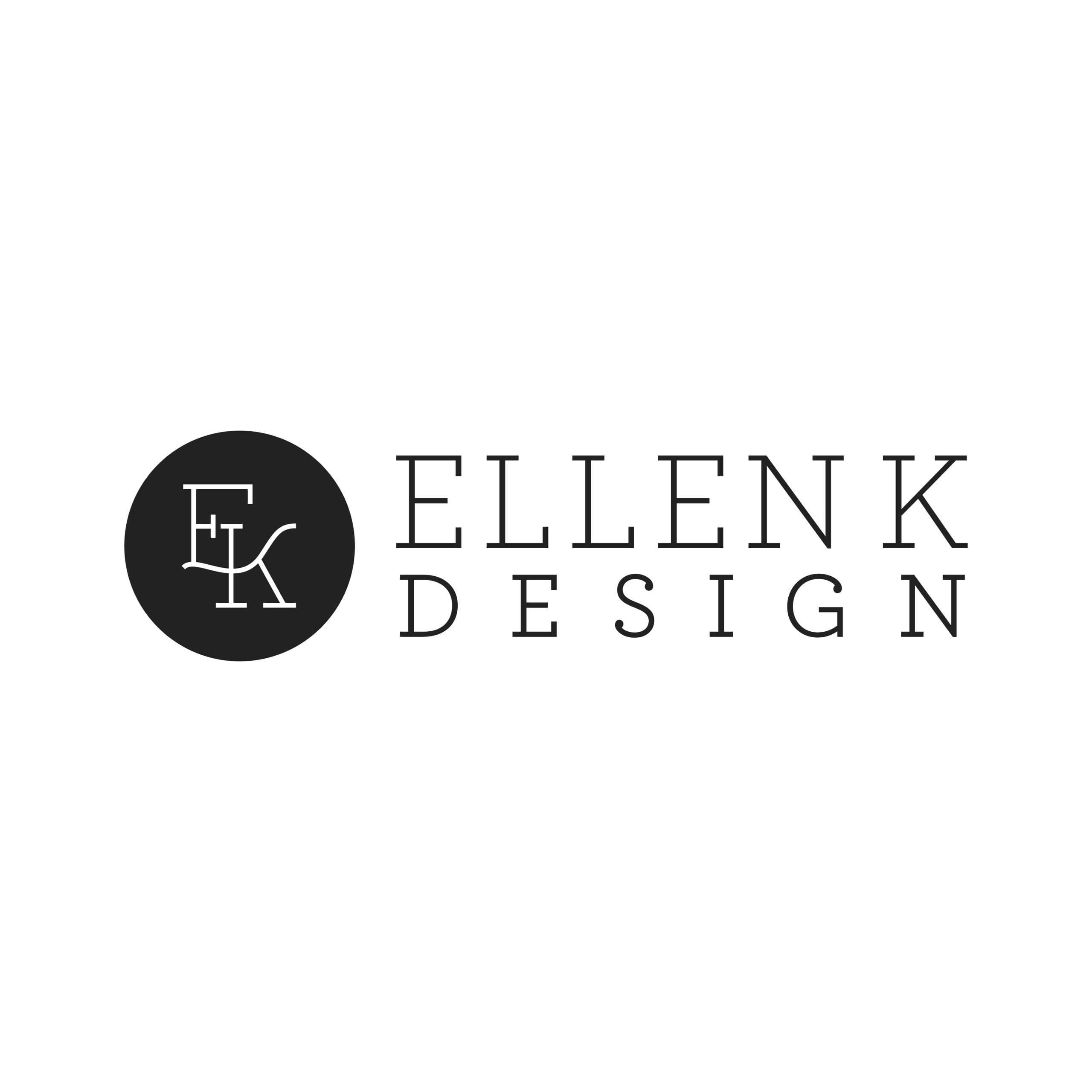 Ellen K. Design Logo Design