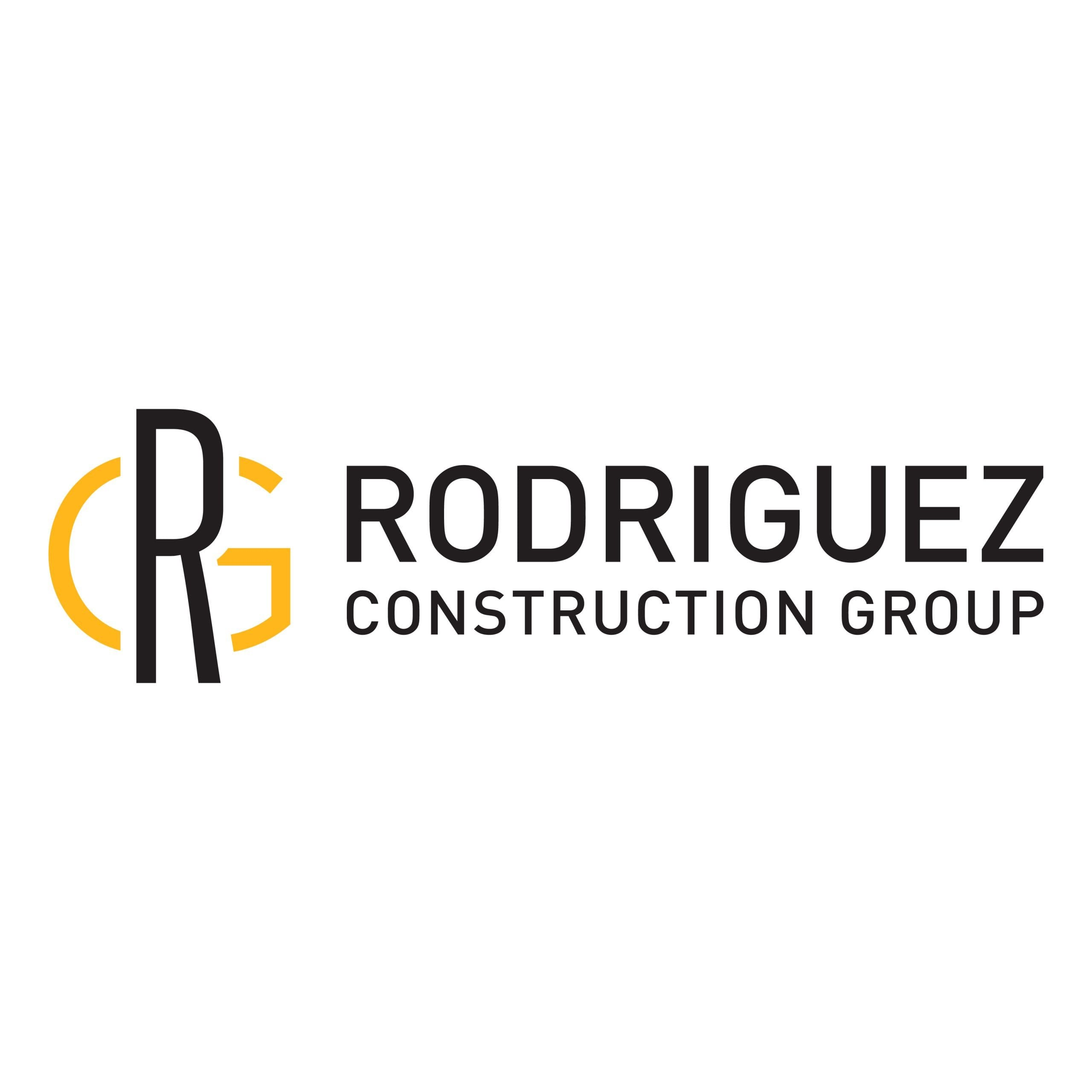 Rodriguez Construction Group Logo Design