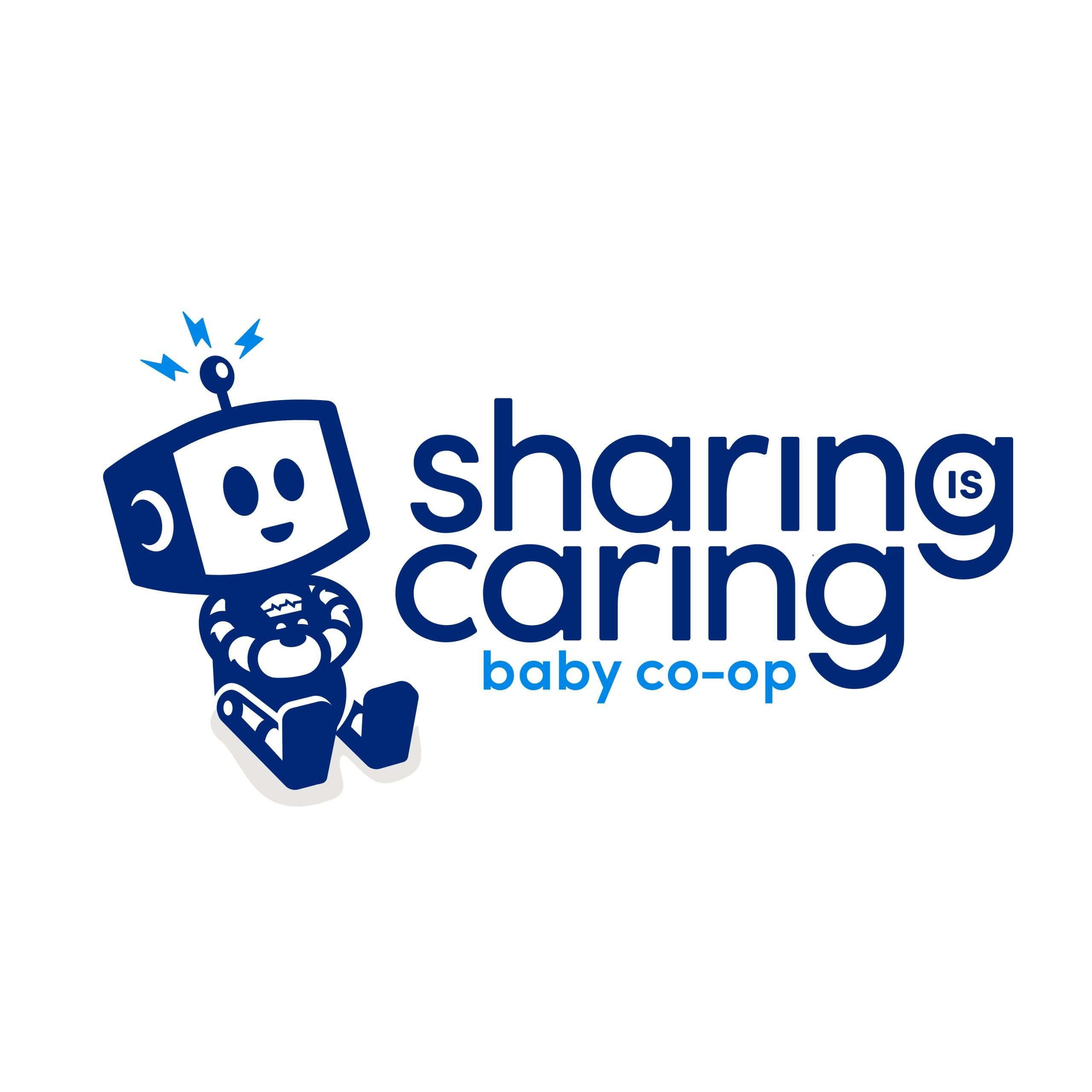 Sharing is Caring Logo Design