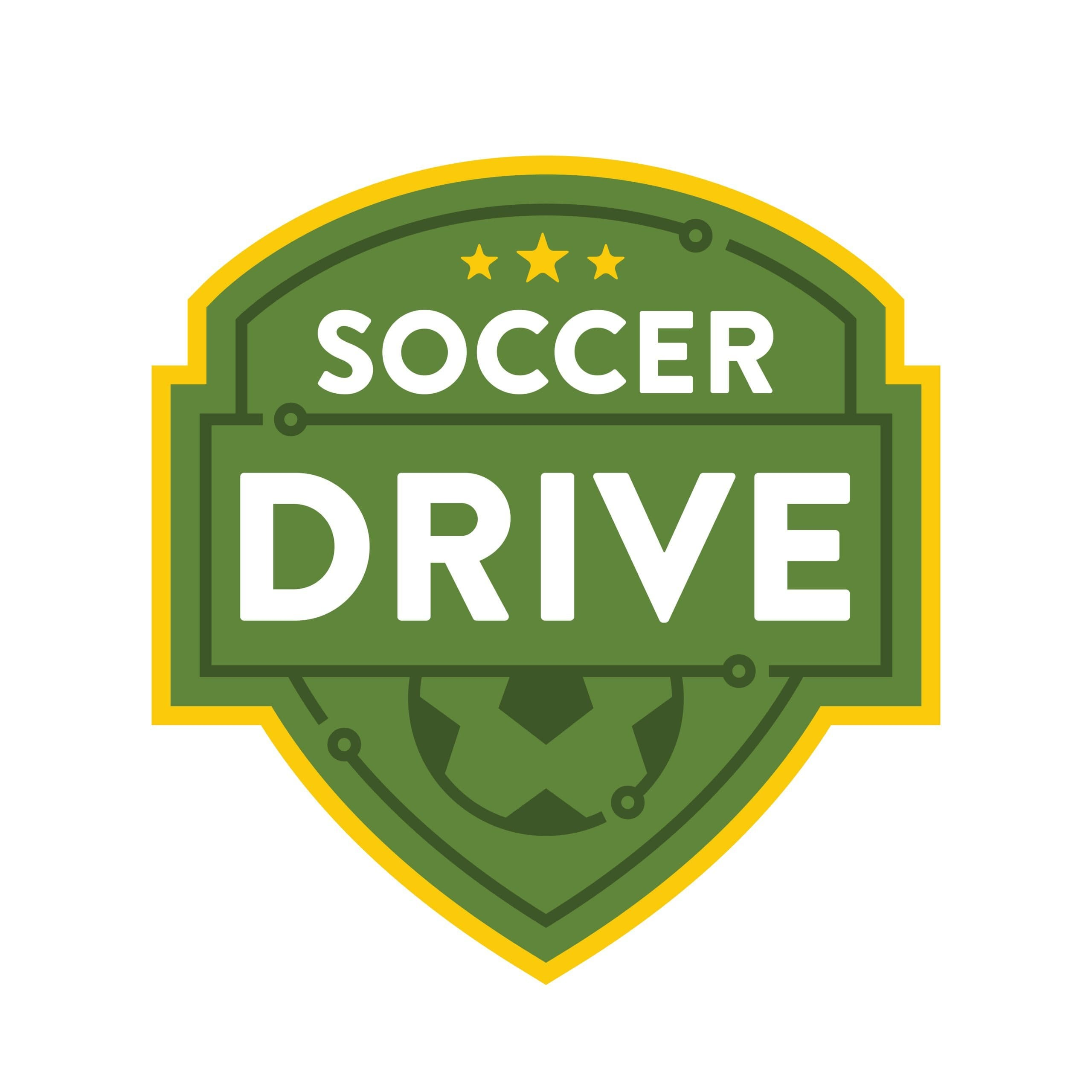 Soccer Drive Logo Design