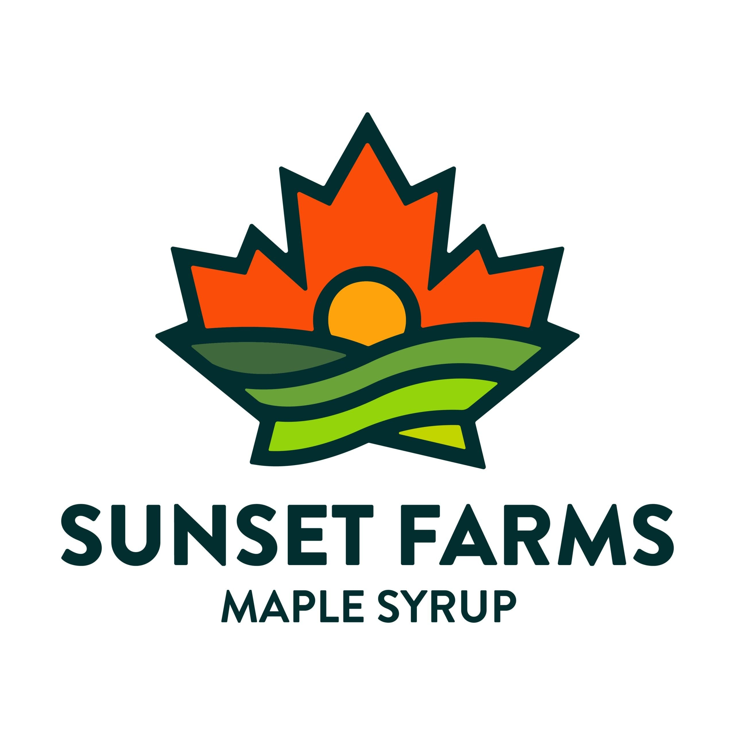 Sunset Farm Logo Design