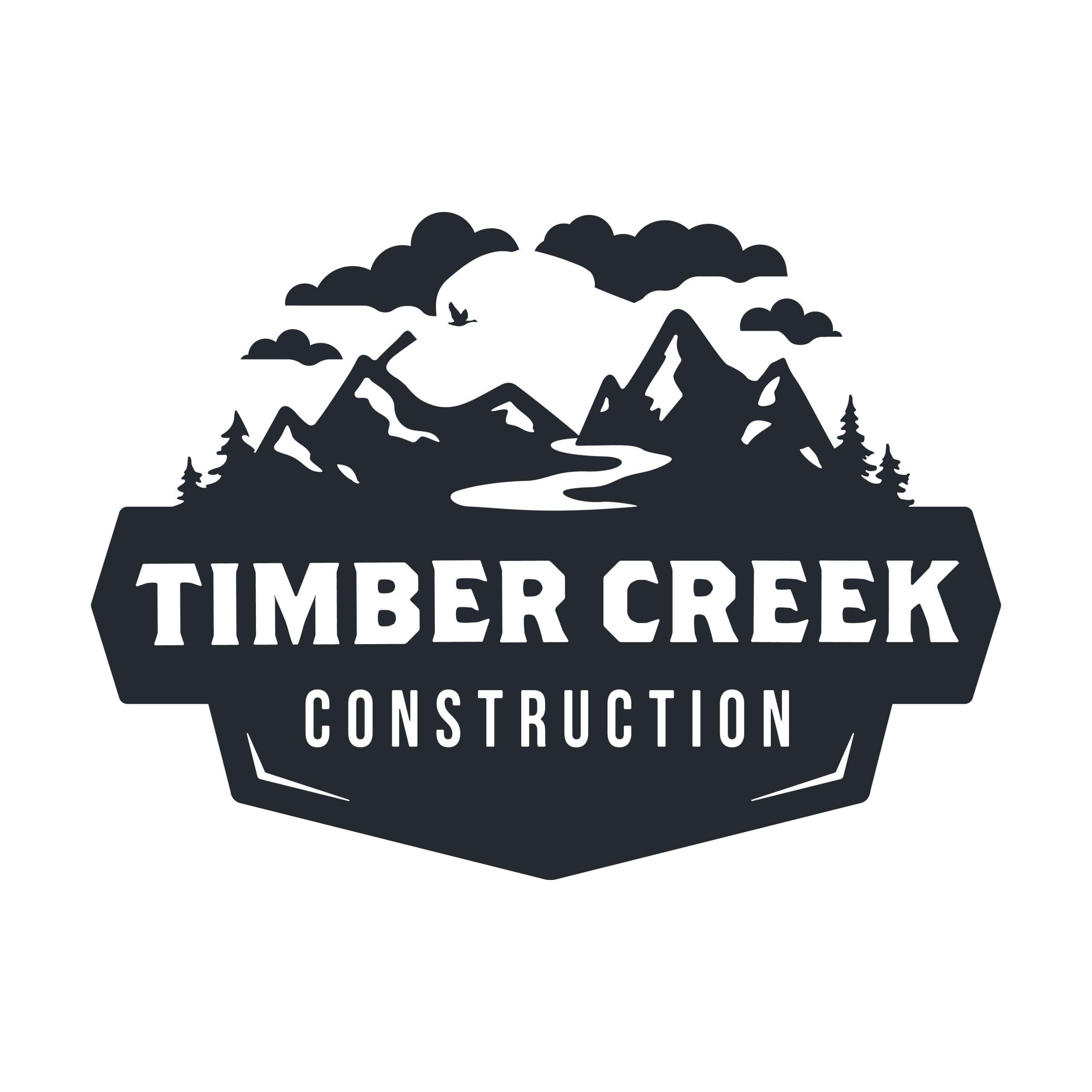 Timber Creek Construction Logo Design