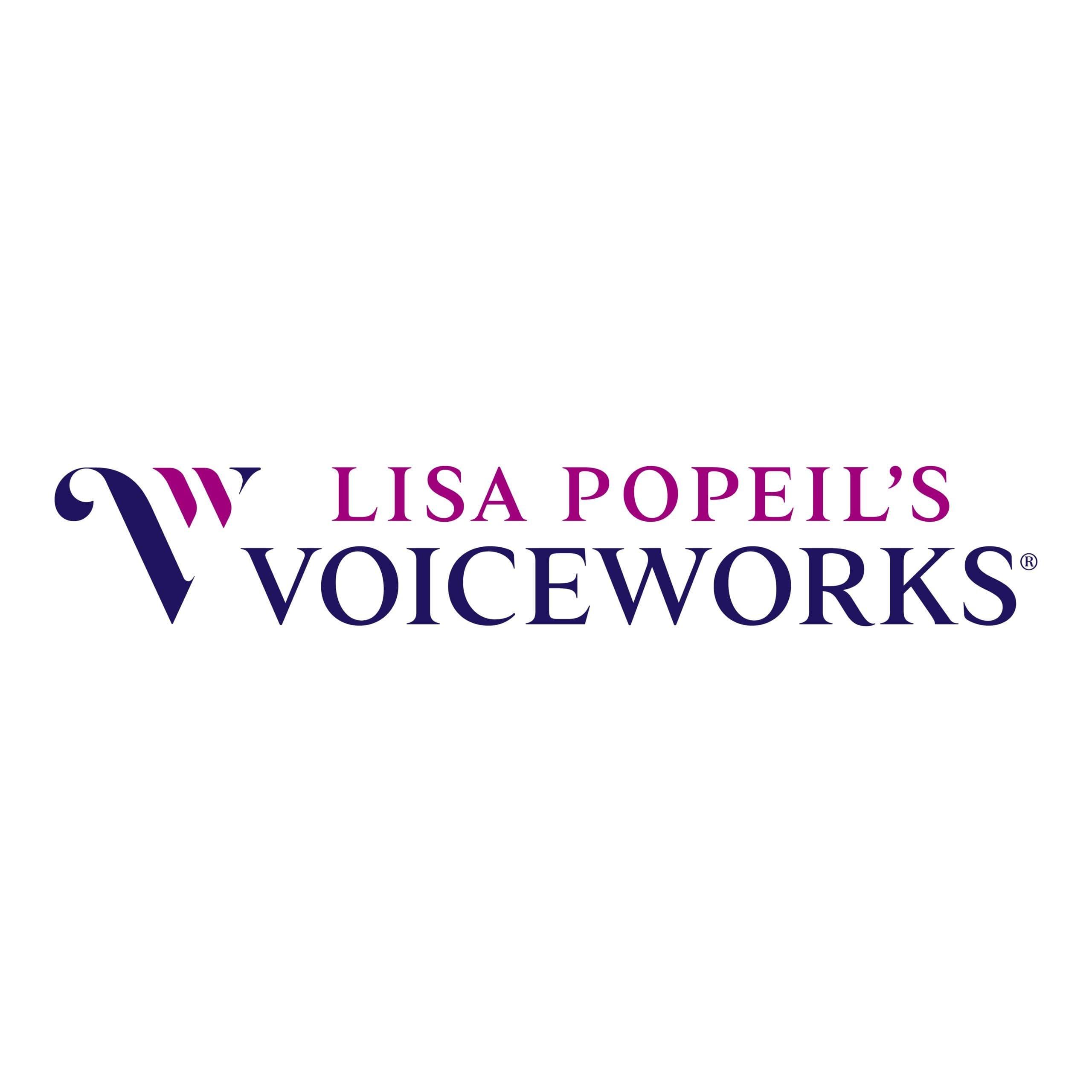 Voice Works Logo Design