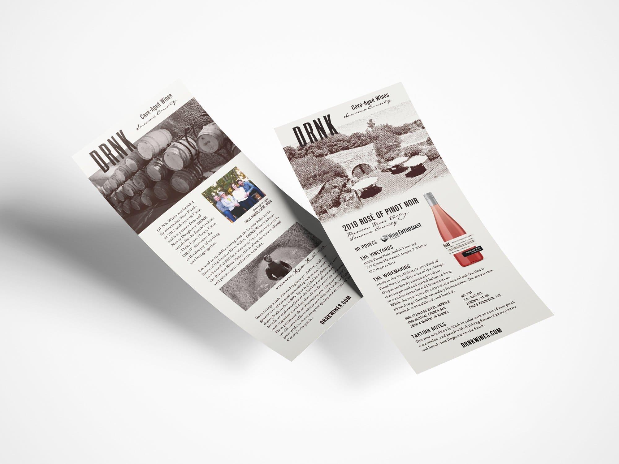 Tech Sheet Design