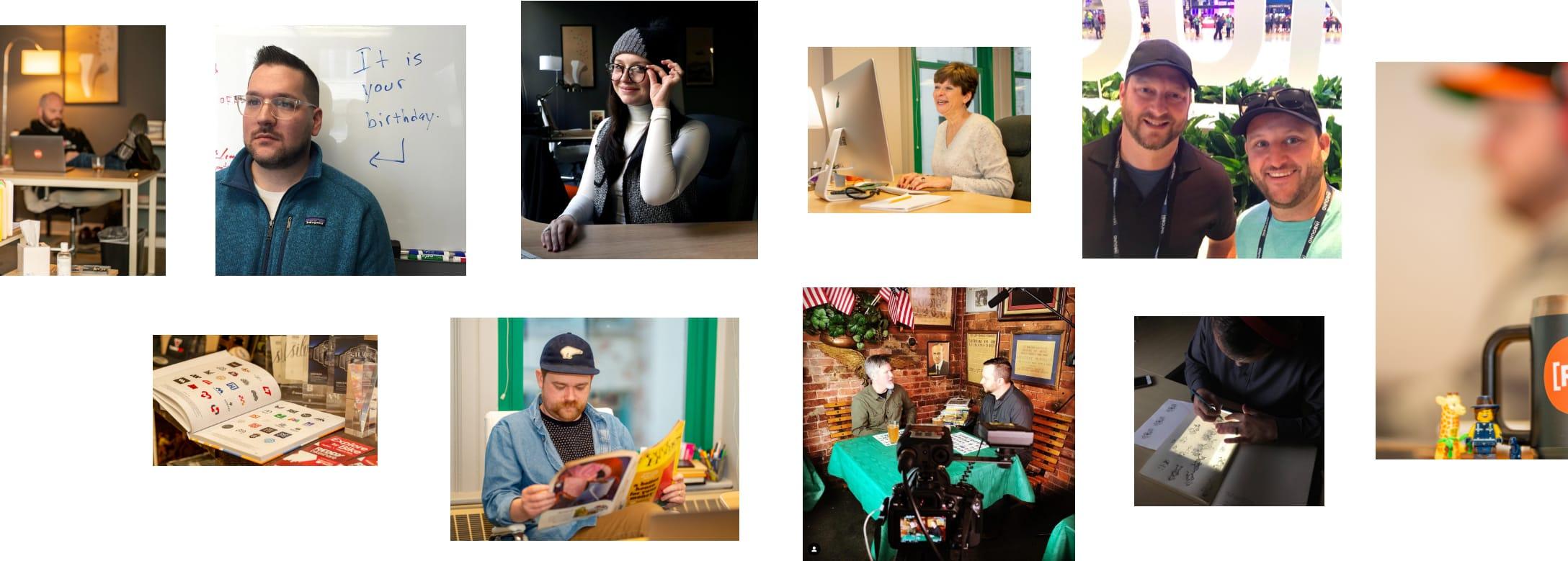 Renoun Team Photo Collage