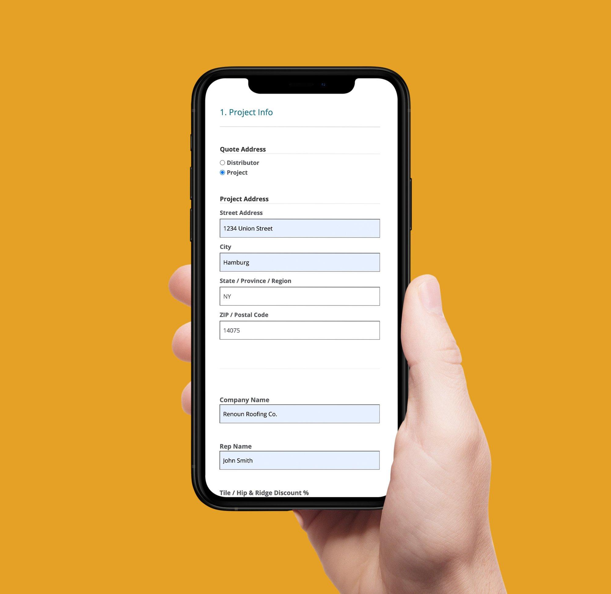ecostar quote app mobile