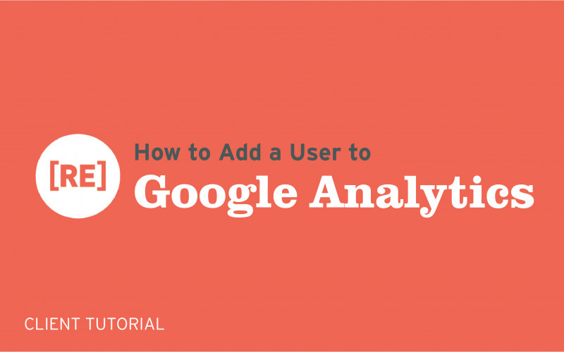 how to add a user to google analytics