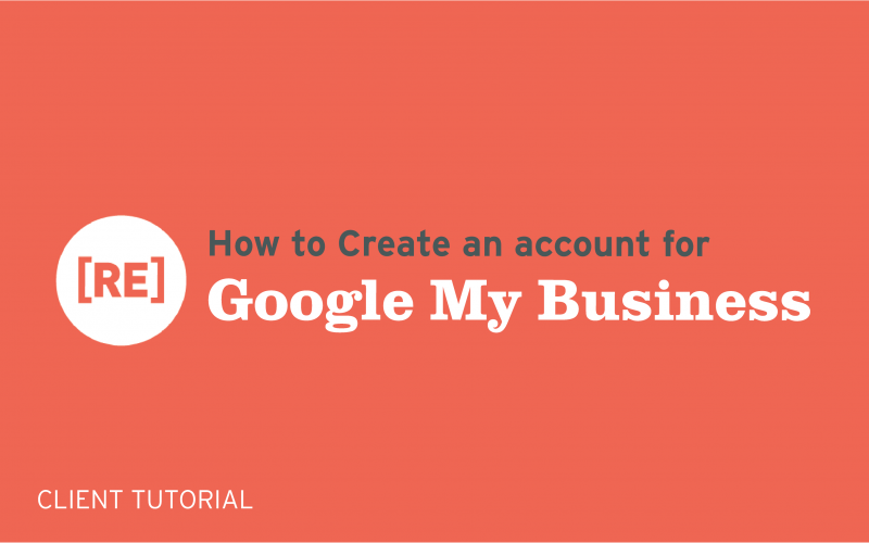 how to create an account for google my business