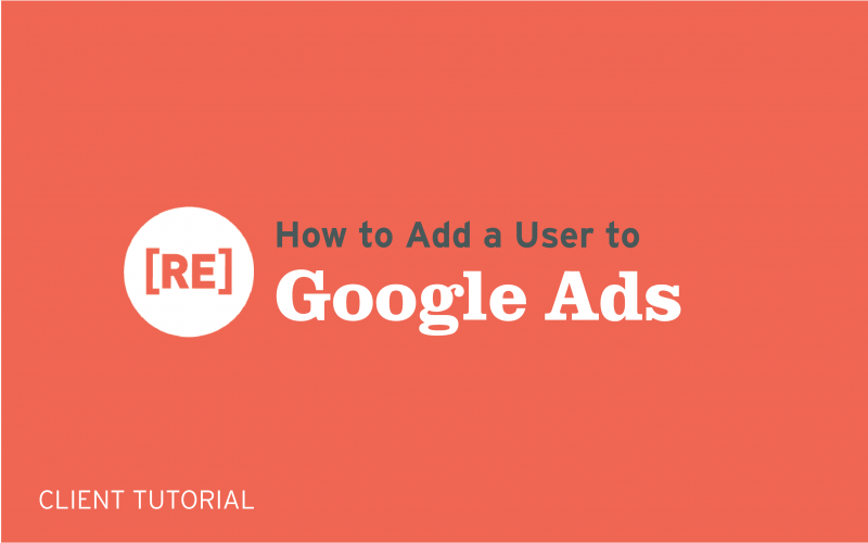 how to add a user to google ads