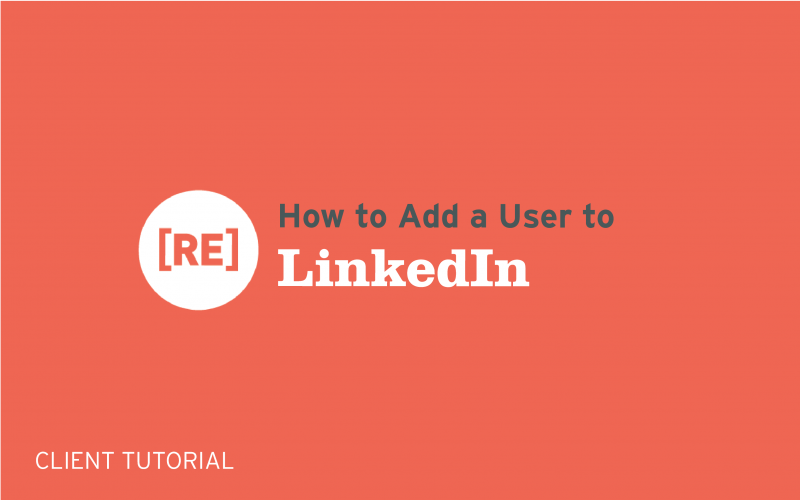 how to add a user to linkedin business page